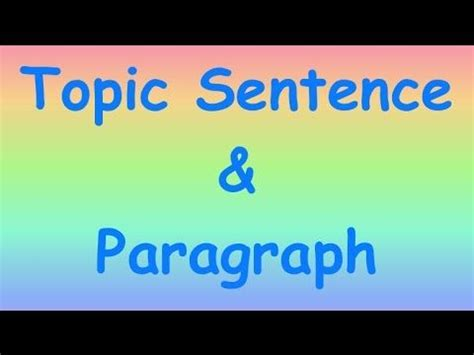 How to write a good one paragraph essay